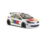 """NSR 0009AW Renault Clio  """"Piet Mondrian"""" Triangular Motor Mount - AW King EVO3"""