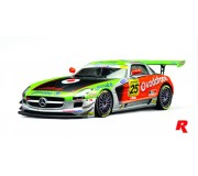 Scaleauto SC-6022R Mercedes SLS AMG GT3 IberGt Jarama 2011  Winner n.25 Vodafone BP Ultimate Team