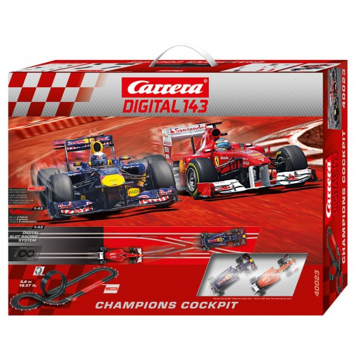Carrera DIGITAL 143 40023 Coffret Champions Cockpit