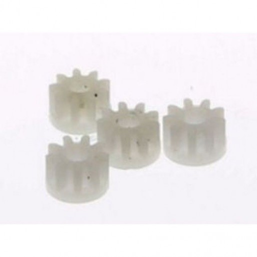 Scalextric W8100 Pinion 9 teeth L7085 (White) x4