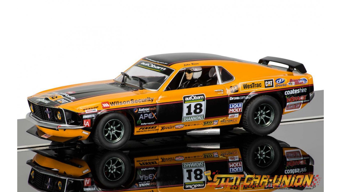 scalextric c3671 ford mustang boss 302 1969 john bowe 2011 touring car masters championship. Black Bedroom Furniture Sets. Home Design Ideas