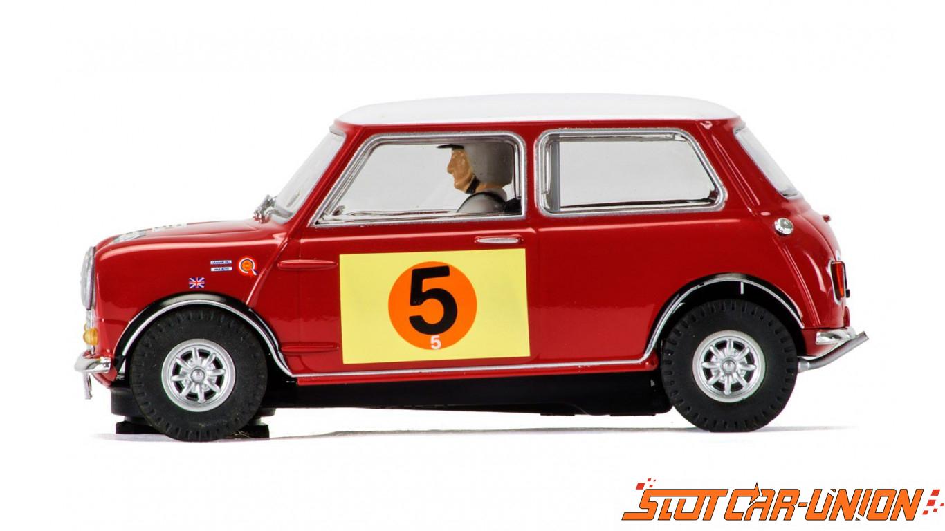 scalextric c3747 mini cooper s rac rally 1966 slot car union. Black Bedroom Furniture Sets. Home Design Ideas