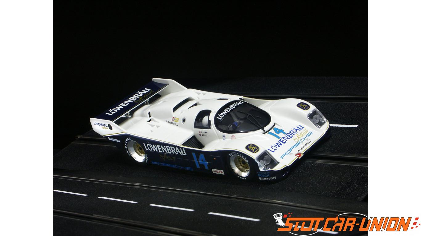 Brm Porsche 962 Imsa 85 Lowenbrau No14 Anglewinder Chassis