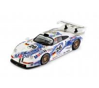 BRM Porsche 911 GT1 Team Mobil no.26 - 3rd classified 24h Le Mans 1996 ALUMINUM CHASSIS