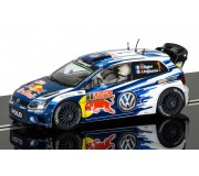 Scalextric C3744 Volkswagen Polo WRC - Rallye Monte Carlo 2015