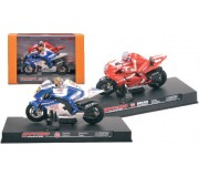 BYCMO 421834 Pack 2 Motos Rossi vs Stoner