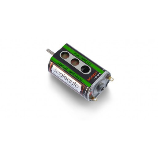 Scaleauto SC-0027b Motor Sprinter Jr 18000 rpm 310g*cm 0,22A - with Active Cooling System