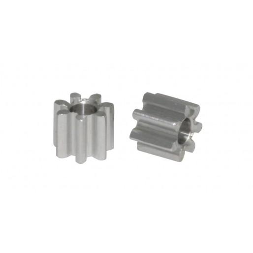 Scaleauto SC-1027 Aluminium Pinion 7 Tooth M50 for 2mm. motor axle. diam. 4.5mm