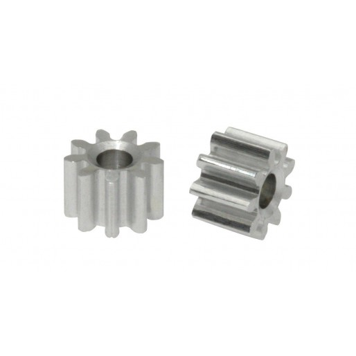 Scaleauto SC-1029 Aluminium Pinion 9 Tooth M50 for 2mm. motor axle. diam. 5.8mm