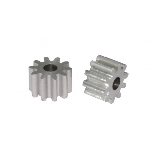Scaleauto SC-1030 Aluminium Pinion 10 Tooth M50 for 2mm. motor axle. diam. 6.35mm