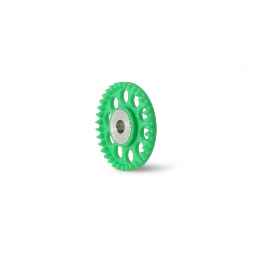 Scaleauto SC-1105 Nylon crown Gear 35th.  M50 with 2xM2 screws for 3mm. Axle (orange)