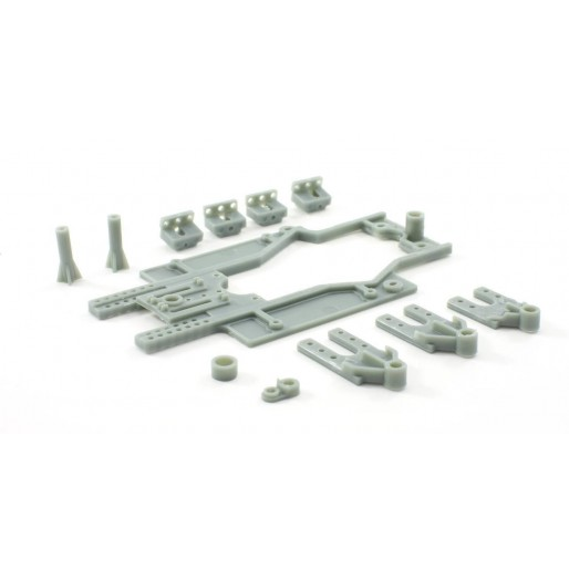 Scaleauto SC-6629b Chassis RT-3 LWB (81-86mm) Rev.3 Reinforced guide holder SOFT