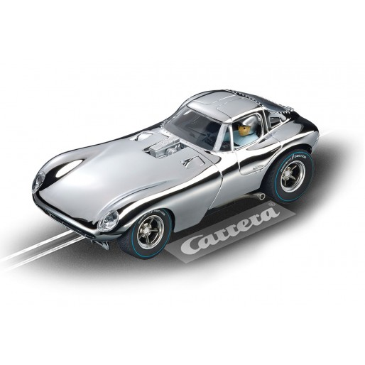 Carrera DIGITAL 132 30648 Bill Thomas Cheetah, Aluminium Car