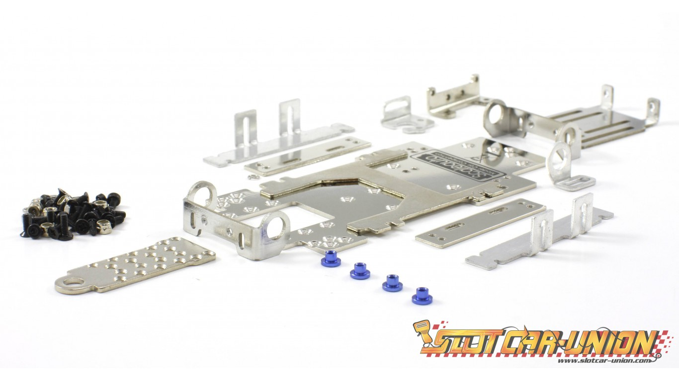 Scaleauto SC-8001c Complete SC-8001 chassis. Kit form. Classic 124 ...