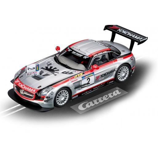 Carrera DIGITAL 132 30551 Mercedes-Benz SLS AMG GT3 Team Black Falcon, VLN 2011 No.2