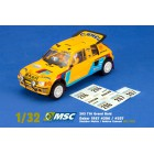 MSC Competition MSC-7402 Peugeot 205 T16 Grand Raid Dakar 1987 n.205 & n.207