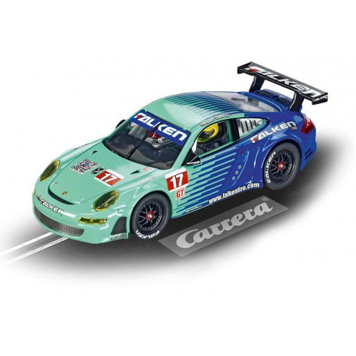 Carrera Evolution 27429 Porsche GT3 RSR 2009, Team Falken No.17