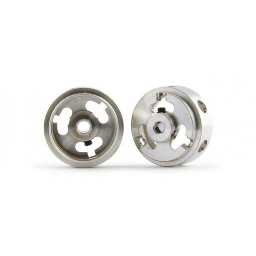 Slot.it WH1288-Mg Magnesium Hollow Wheels Ø16.9x8.2x1.5mm x2