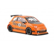 "NSR 1182SW Abarth 500 Assetto Corse - Limited Edition Tecnodom n.6 - ""orange"" - SW Shark 20K"
