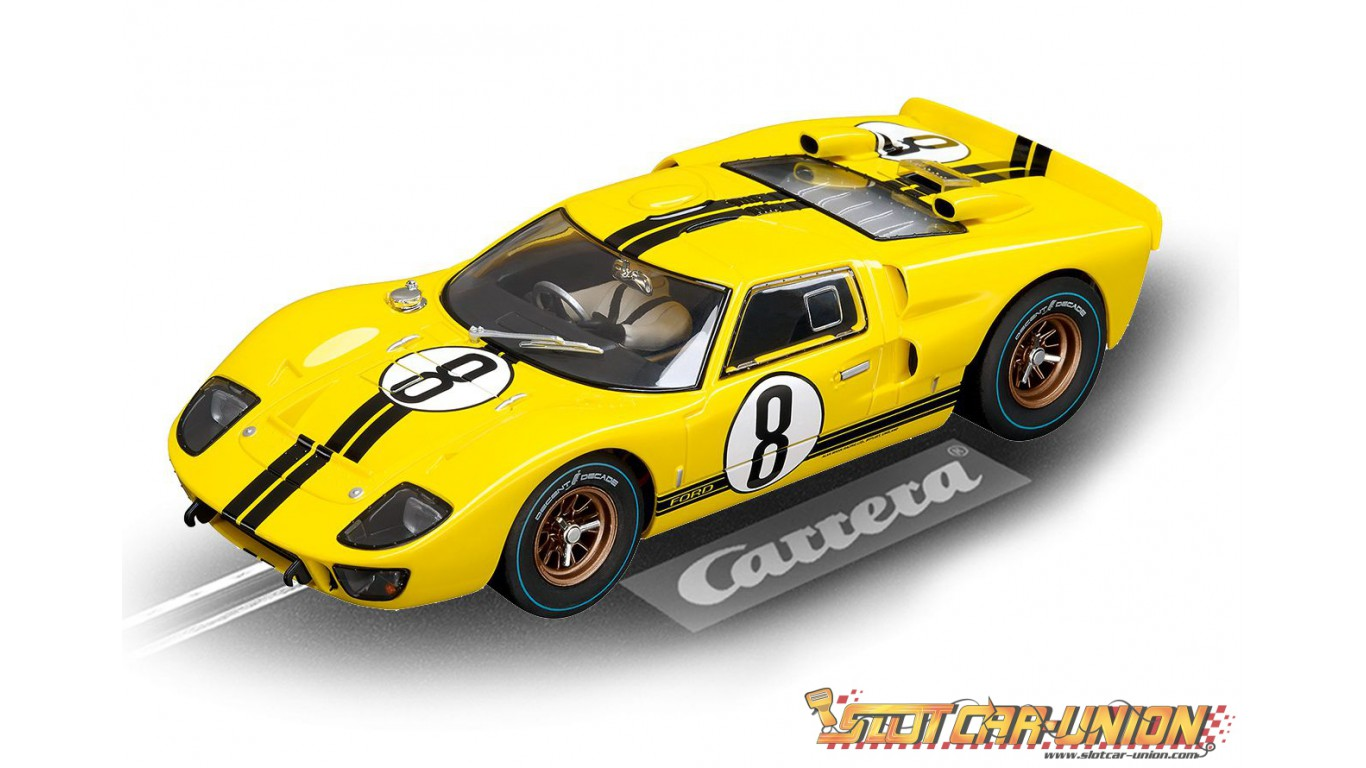 carrera digital 124 23779 ford gt40 1966 no 8 slot car. Black Bedroom Furniture Sets. Home Design Ideas