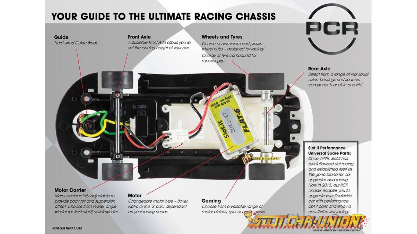 Scalextric C8546 Pro Chassis Ready Pcr Underpan Ford Sierra Rs 500 Wiring Diagram Rs500 C8536 Bmw Z4