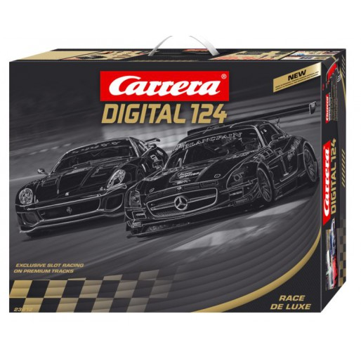carrera digital 124 23612 race de luxe set slot car union. Black Bedroom Furniture Sets. Home Design Ideas