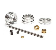 "NSR 4012 Rear Kit with 17"" wheels for Scalextric/Fly Sidewinder"