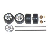 "NSR 9219 Front+Rear Kit with Tires on 17"" wheels for NSR Sidewinder"