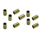 "NSR 4855 3/32 Axle Spacers .160""/4.00mm Brass x10"