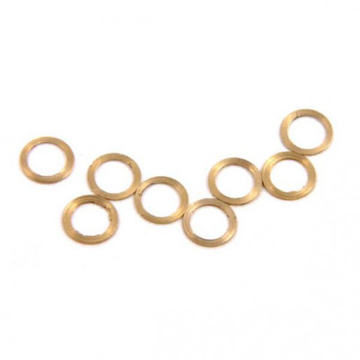 """NSR 4811 3/32 Axle Spacers .010""""/0.25mm x10"""