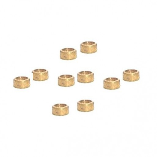 """NSR 4813 3/32 Axle Spacers .040""""/1.00mm x10"""