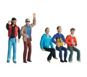 Carrera 21106 Lot de 5 personnages