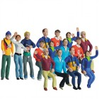Carrera 21107 Set of 15 figures