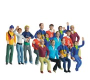Carrera 21107 Lot de 15 personnages