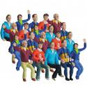 Carrera 21108 Lot de 20 personnages