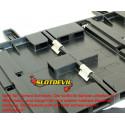 Slotdevil 05990005 Retaining clips black universal x50