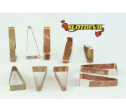 Slotdevil 05990006 Clips for additional supply Carrera x10