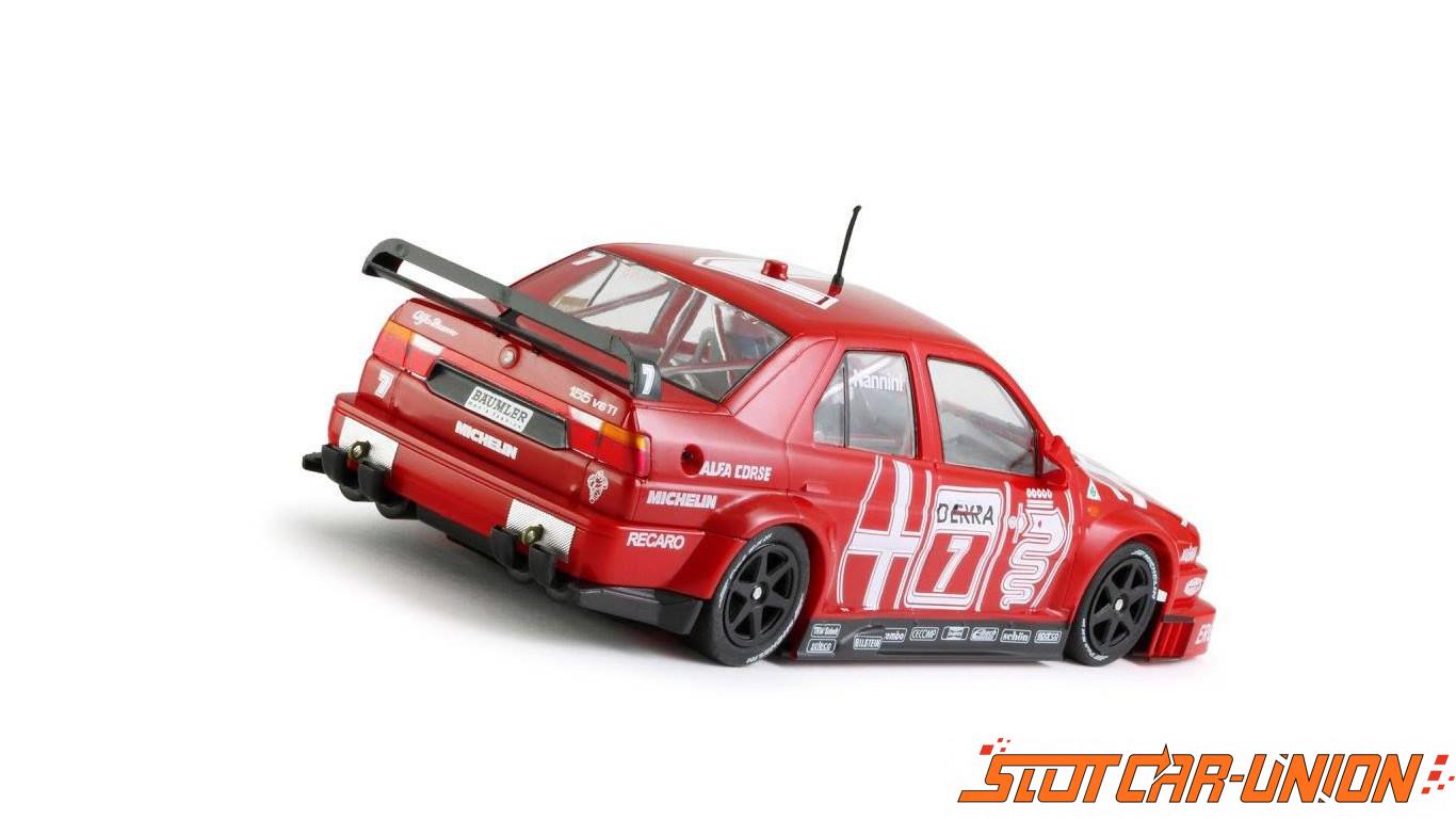Alfa ROMEO 155 white racing Kit Slot.it Ref.CA35z Elektrisches Spielzeug