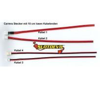 Slotdevil 20112005 Set de Câble Carrera Complet