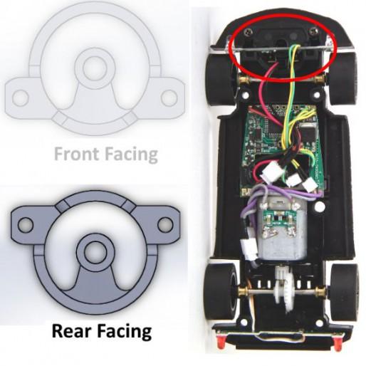 Carrera 1/32 Rear Face Guide Adapter