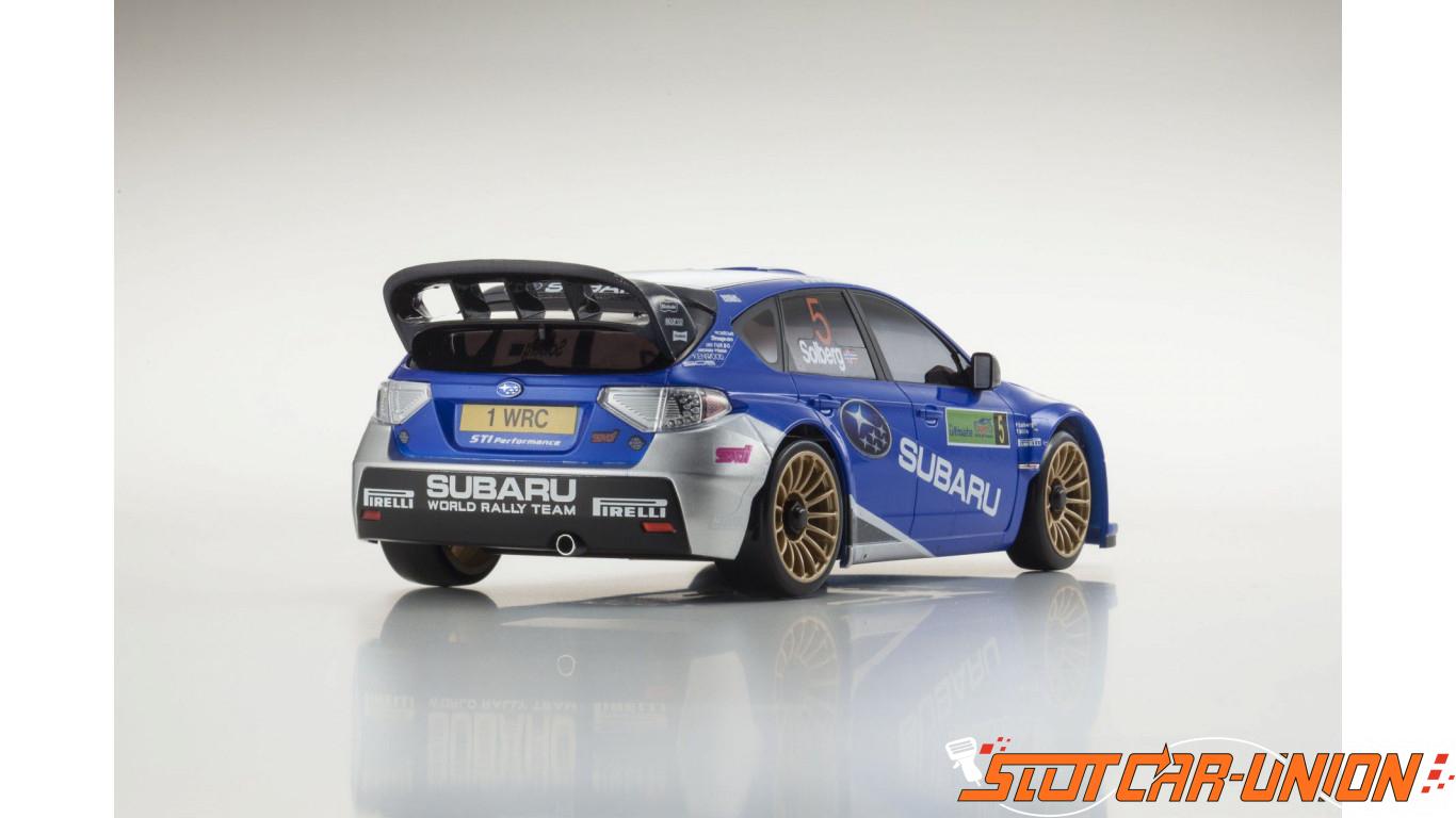 Kyosho Mini Z Ma020 Ma020 Sports 4wd Subaru Impreza Wrc 2008 Kt19