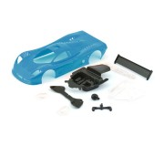 NSR 1320B Mosler MT900R ULTRALIGHT Body Kit Blue 14.6gr