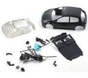 NSR 1328B Renault Clio Cup ULTRALIGHT Body Kit Black 19gr