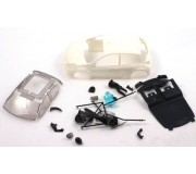 NSR 1328W Renault Clio Cup ULTRALIGHT Body Kit White 19gr
