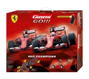 Carrera GO!!! 62394 Coffret Red Champions