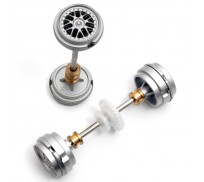Carrera 89403 Front and rear Axle for Porsche GT3 RSR
