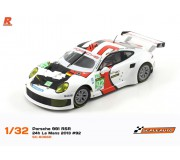 Scaleauto SC-6066R Porsche 991 RSR 24h Le Mans 2013 n.92 Winner