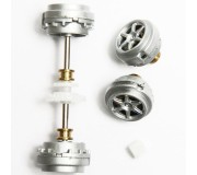 "Carrera 89640 Front and rear Axle for BMW M3 GT2 Rahal Letterman Racing ""No.92"" & 2010 ""No.90"""
