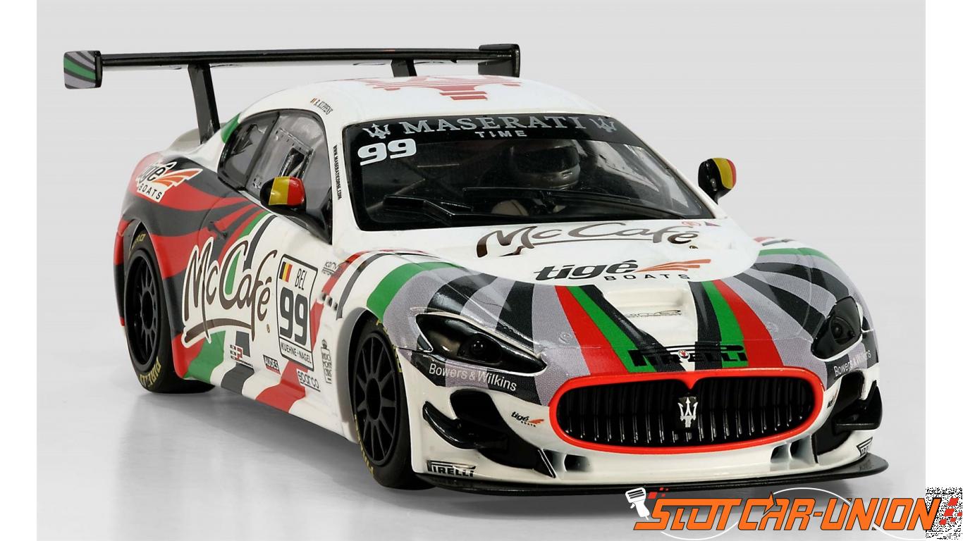 scalextric c3388 maserati trofeo, world series no.99 - slot car-union