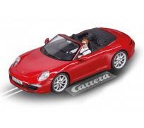 Carrera Evolution 27534 Porsche 911 Carrera S Cabriolet (rouge)
